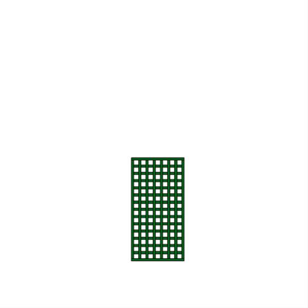 Panneau petite maille carrée illusion – T23