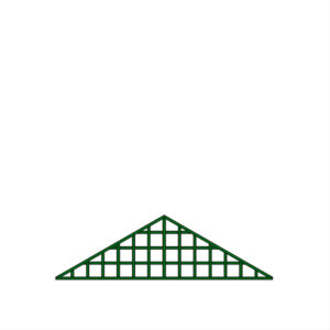 Fronton triangle simple – T31