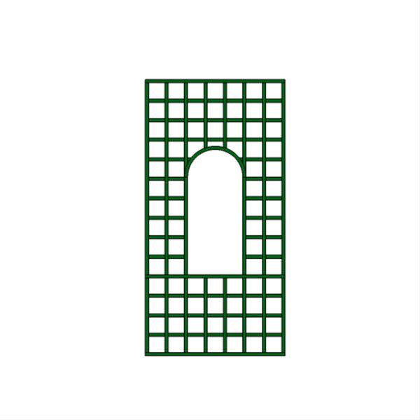 Panneau maille carrée fenêtre – T36